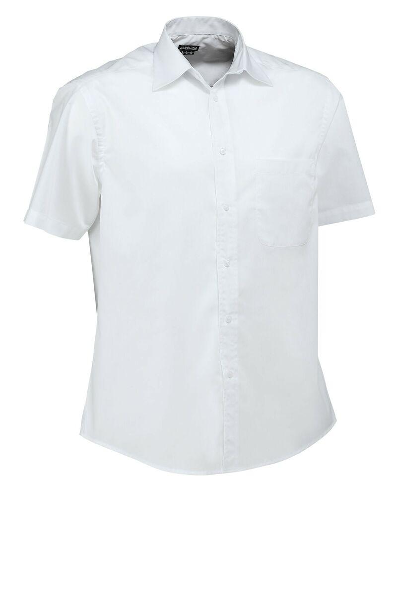kauluspaita miehille rico lyhyt hiha valkoinen resta24