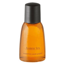 Kosmetiikkasarja Amber Spa, Hair & Body shampoo, 35 ml